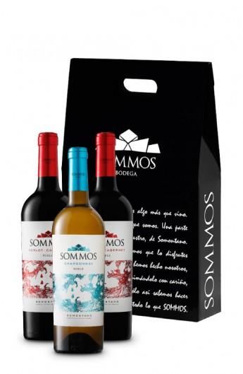 LOTE ESPECIAL SOMMOS ROBLE 3 BOTELLAS