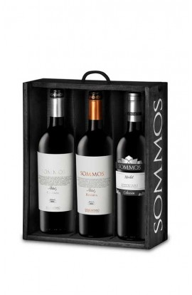 LOTE EXCLUSIVO SOMMOS 3 BOTELLAS