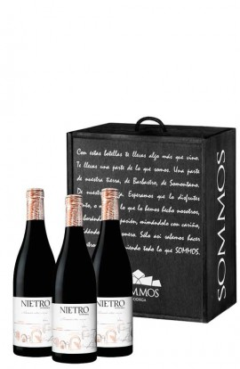 LOTE EXCLUSIVO NIETRO TINTO 3 BOTELLAS