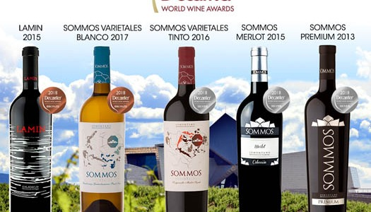 MEDALLAS EN DECANTER WORLD WINE AWARDS 2018